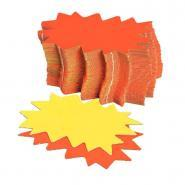 Eclates  8x12 cm - Jaune / Orange - Paquet de 50