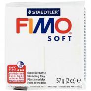 Pâte à modeler Fimo Soft, 57 grammes, blanc