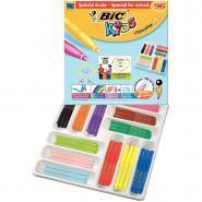 Feutres coloriage pl visa color XL assorti - Classpack de 96
