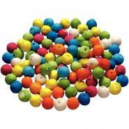 Boules celluloses diam 18mm assorti - Sachet de 100