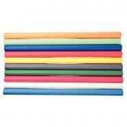 Rouleaux papier kraft - Couleurs assorties - 70g - 3x0,7m - Boîte de 10
