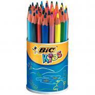 Crayons de couleur Evolution triangulaires - Pot de 48