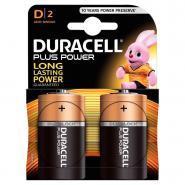 Piles 1,5V LR20 Duracell Plus Power - Blister de 2