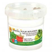Gel cristal pour bougie - Pot de 800g