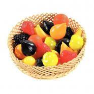 Fruits en plastique - Petit modèle - Sachet de 24