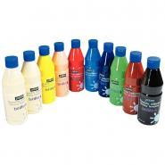 Gouache brillante brillo 500 ml - Lot 10 flacons