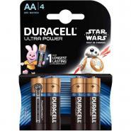 Piles 1,5V LR06 Duracell Ultra Power - Blister de 4