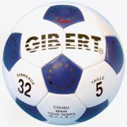 Ballon de foot en cuir 32 panneaux - Taille 5