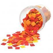 Mosaïque rouge/orange/jaune - Seau de 1kg