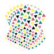 Gommettes triangulaires - Pochette de 2 720