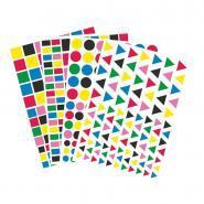 Gommettes géométriques - Pochette de 4 400