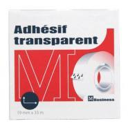 Rouleau adhesif transparent 19x33 business