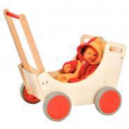 Beleduc - Landau en bois pour poupée