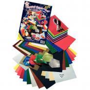 Set atelier papier de noël - 198 pièces