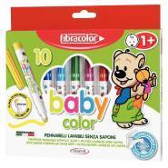 Feutres coloriage pm bebe assorti - Boîte de 10