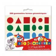 Maxi gommettes g�om�triques holographiques - Pochette de 720