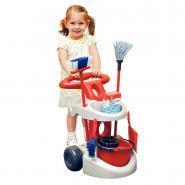 Chariot de ménage + accessoires