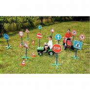 Panneaux routiers 1 mètre - Lot de 12