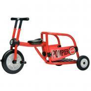 Tricycle 4-8 ans Pompier - Rouge