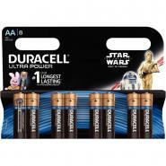 Piles 1,5V LR06 Duracell Ultra Power - Blister de 8