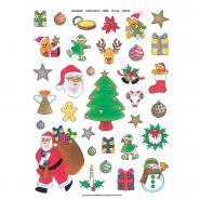 Agipa - Gommette Noël or et argent - Pochette de 198