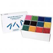 Crayons à la cire - Boîte de 300