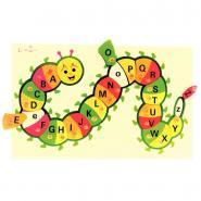 """Puzzle en bois """"Chenille alphabet"""""""