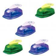 Perforateurs POP - 20 mm - Motifs 3D - Boîte de 5