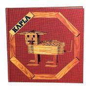 """Manuel livre d'art Kapla - Tome 1 - """"Les animaux et constructions variés"""""""