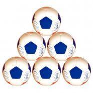 Ballons de football loisirs - Taille 5 - Lot de 6