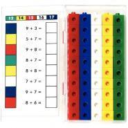 Cubes couleurs - Seau de 200