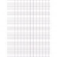 Feuilles affiche imprimées 90g - Seyes 60x80 cm - Paquet de 25