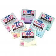 P�te � modeler FIMO pastel - Sachet de 6 blocs de 56g