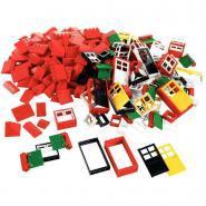Portes - Fenêtres - Châssis LEGO Basic, 278 pièces
