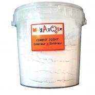Poudre de ciment pour joint de mosaique - Pot de 1kg