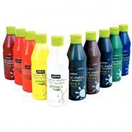 Gouache vinylique prima magic - kit de 10 flacons de 500ml