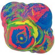 Balle rebondissante multicolore