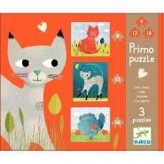 """Puzzles Primo """"Les chats"""" - Boîte de 3"""