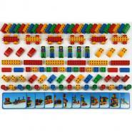 Set Manetico junior de 98 pièces + 12 fiches modèles