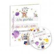 A la portée des tout-petits - 10 comptines sur 3 notes - Livret + CD