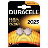 Piles lithium 3V CR2025 Duracell Electronics - Blister de 2
