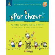 Par choeur - Cycle 1 - Livret + CD