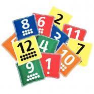 Sacs lestés numérotés - Set de 12