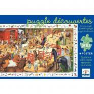 """Puzzle d'observation de 200 pièces """"L'équitation"""""""