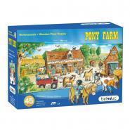 Beleduc - Puzzle de sol de 45 maxi pièces en bois - Pony Farm