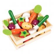 Légumes en bois - Cagette de 12