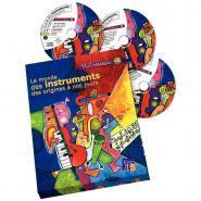 Le monde des instruments des origines � nos jours - Coffret de 3 CD