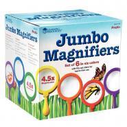 Loupes x4.5 - Jumbo Magnifiers - Boîte de 6
