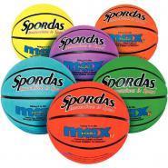 Ballons de basket-ball - Taille 5 - Sachet de 6