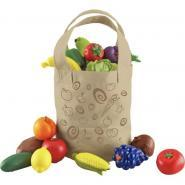 Sac en tissu + 16 fruits/légumes